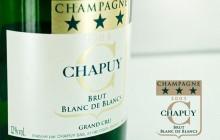 etiquette champagne Chapuy