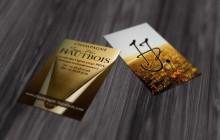cartes de visite Champagne Hautbois